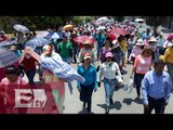 Sección 22, de la CNTE, bloquea carreteras y oficinas de gobierno en Oaxaca/ Vianey Esquinca