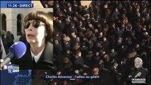 """""""C'était très émouvant."""" Mireille Mathieu a apprécié l'hommage national rendu à Charles Aznavour"""