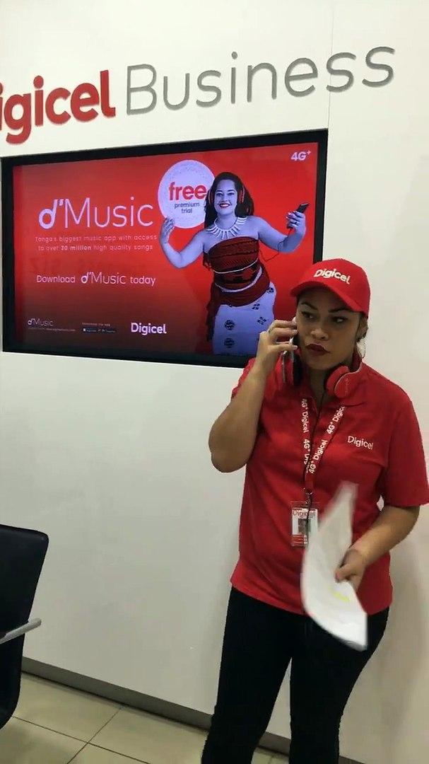 Tonga's Biggest Music App, d'Music.