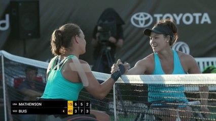 Women's Singles Final - Mathewson (USA) vs Buis (NED)
