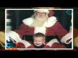 Niños llorando con Santa | Las mejores fotos de niños llorando con Santa Claus