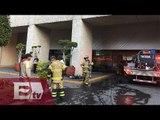 Fuga de gas pimienta obliga a evacuar edificio en Polanco/ Yazmín Jalil