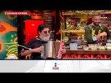¡Celso Piña canta la 'Cumbia campanera' en el foro! | Sale el Sol