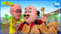 Motu Patlu in Hindi | Gold Samosa| Cartoon for Kids | Wow Kidz
