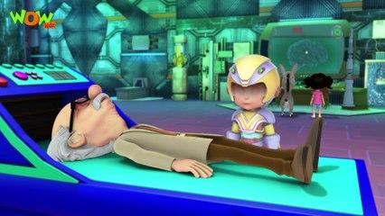 Vir The Robot Boy | Vir in Dadaji's Brain| Action Cartoon for Kids | Wow Kidz