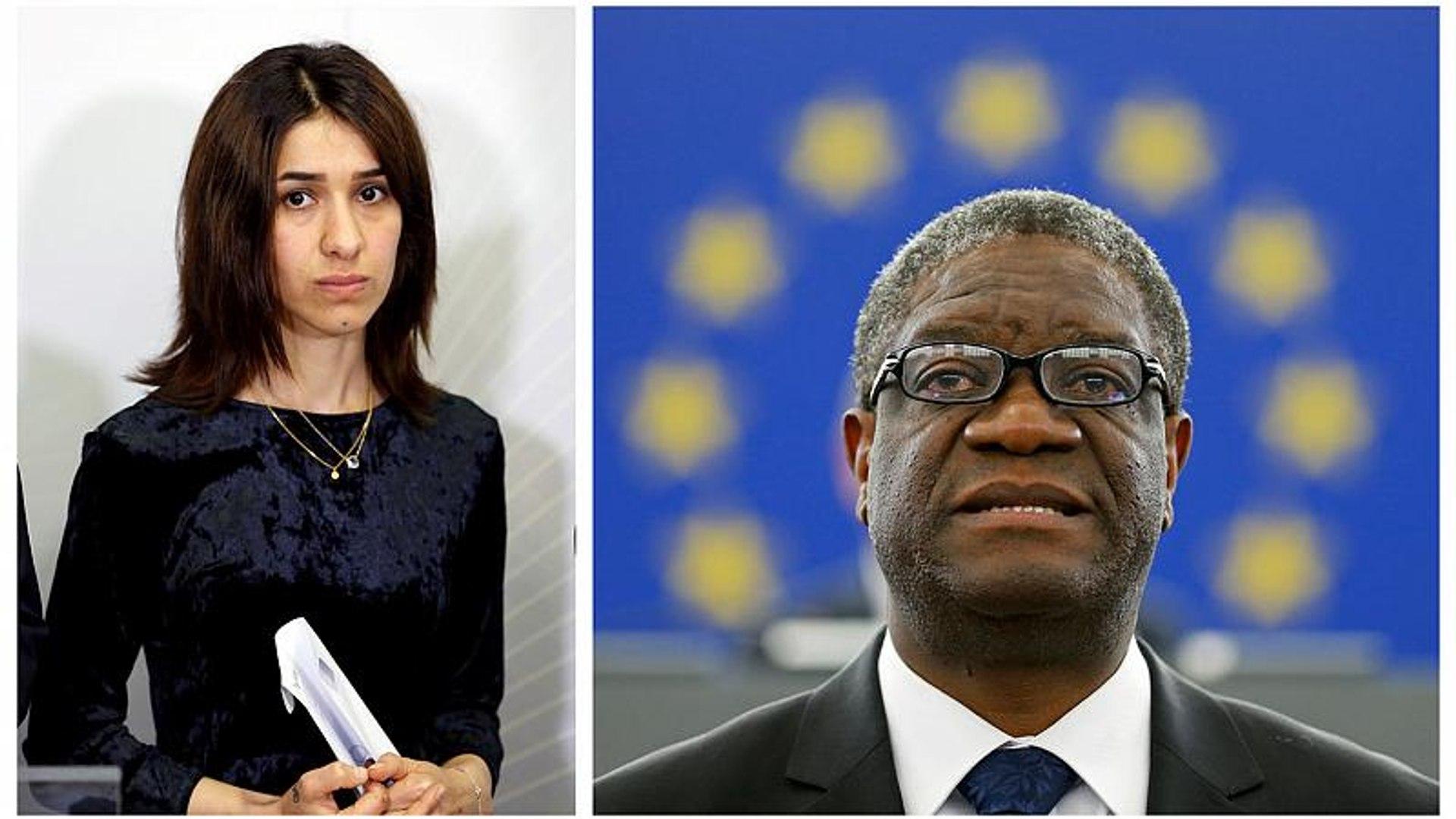 Il premio Nobel per la Pace 2018 a Denis Mukwege e Nadia Murad