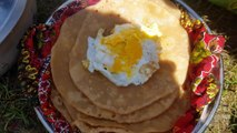 Breakfast at Kunhar River Naran - Naran Kaghan Valley - Beautiful Pakistan - Village Food Secrets