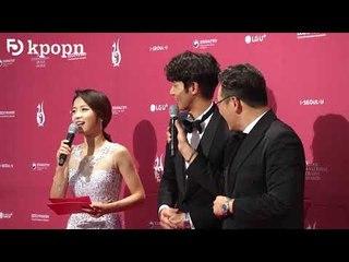 2018-09-03 劉以豪出席《2018 首爾國際電視節》受訪片段