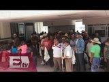 Campesinos bloquean instalaciones de Sedesol / Yazmín Jalil