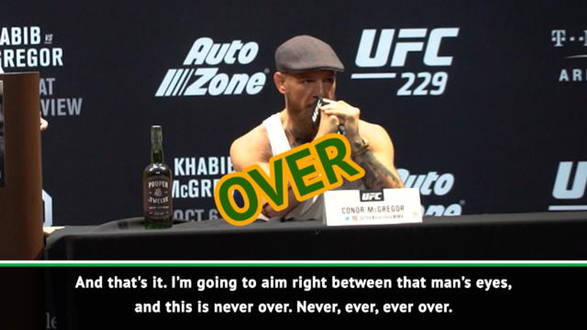 Return of the King? - the best of Conor McGregor before UFC 229