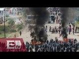 Policía narra las agresiones ocurridas en Oaxaca / Enrique Sánchez