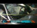 ¡FUERTES IMÁGENES! Aparatoso accidente deja sin vida a dos personas