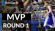 7DAYS EuroCup Regular Season Round 1 MVP: Maurice Ndour, Unics Kazan