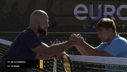 Day 3: Men's Singles: De La Puente (ESP) vs Olsson (SWE)