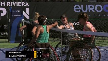 Day 3: Women's Doubles: Buis/Kruger vs Domori/Fairbank