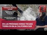 Última información de la Tormenta Tropical Javier