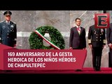El Presidente Peña Nieto rememora la Gesta Heroica de los Niños Héroes de Chapultepec
