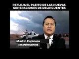 Nuevas estrategias para nuevas generaciones de delincuentes en opinión de Martín Espinosa