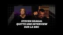 Steven Seagal quitte une interview après une question sur #metoo