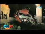 FUERTES IMÁGENES!! Mujer pierde la vida en accidente automovilístico