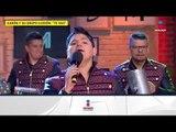 ¡Aarón y su grupo ilusión cantan 'Te vas' en el foro! | De Primera Mano
