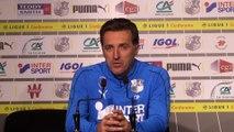 Interview d'avant Match Amiens SC - Dijon FCO, Christophe Pélissier