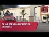 Explota fabrica en Cuautitlán Izcalli dejando 7 personas lesionadas