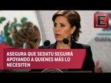 No preocupa a Rosario Robles el recorte a subsidios de vivienda