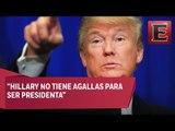 Trump asegura que Hillary no tiene agallas para ser Presidenta / Primer debate Hillary y Trump
