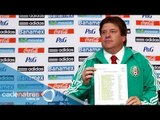Los convocados de Miguel Herrera a la Selección Mexicana para enfrentar a Estados Unidos