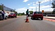 Cettrans realiza ação educativa na Avenida Tito Muffato