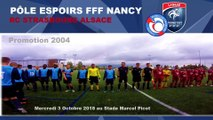 MATCH 2004 PEGE NANCY- RC STRASBOURG