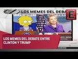 Los mejores memes del debate Cliton-Trump