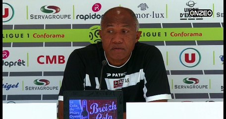 POINT PRESSE (EAG) : AVANT GUINGAMP - MONTPELLIER