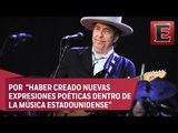 Premio Nobel de Literatura 2016 para Bob Dylan