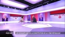 """Robert Badinter : """"Changer de Constitution, changer de régime, je dis non."""""""