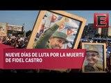 Restos de Fidel Castro recorrerán La Habana en su último adiós