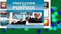 D.O.W.N.L.O.A.D [P.D.F] Profession and Purpose: A Resource Guide for MBA Careers in Sustainability