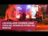 Dos explosiones en Estambul, Turquía, dejan al menos 20 heridos