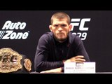 Khabib Nurmagomedov Full Press Conference - Previews Bout Against Conor Mcgregor Ahead Of UFC 229