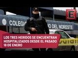 Mejora salud de personas baleadas en un colegio de Monterrey