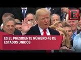 Dios bendiga a América: Trump rinde protesta como presidente