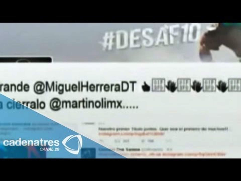 TV Azteca condena la agresión de Miguel Herrera contra Martinoli