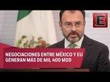 Debemos fortalecer relaciones entre México y EU: Videgaray