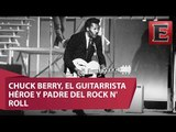Muere Chuck Berry, uno de los fundadores del Rock and Roll