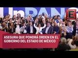 Josefina Vázquez Mota rinde protesta como candidata del PAN al Estado de México