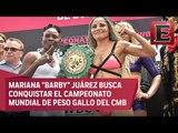 Zócalo capitalino se convierte en ring para albergar peleas de box
