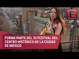La violinista Lara St. John tocará en el Palacio de Bellas Artes