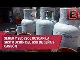 Llevarán estufas de gas LP a familias en pobreza extrema