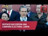 Alfredo del Mazo registra su candidatura para el Estado de México